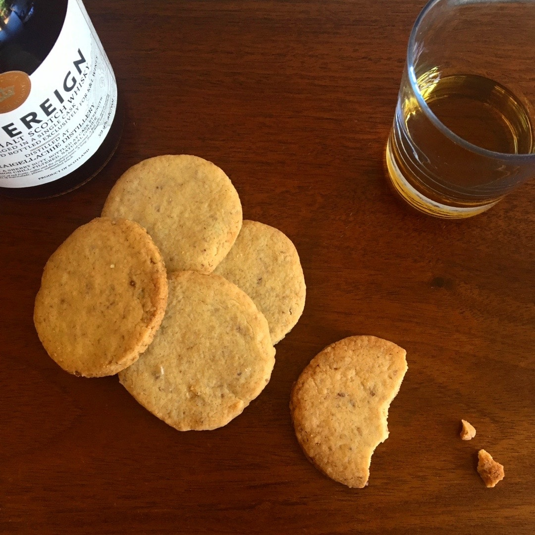 Beer Bread & Whiskey Cookies