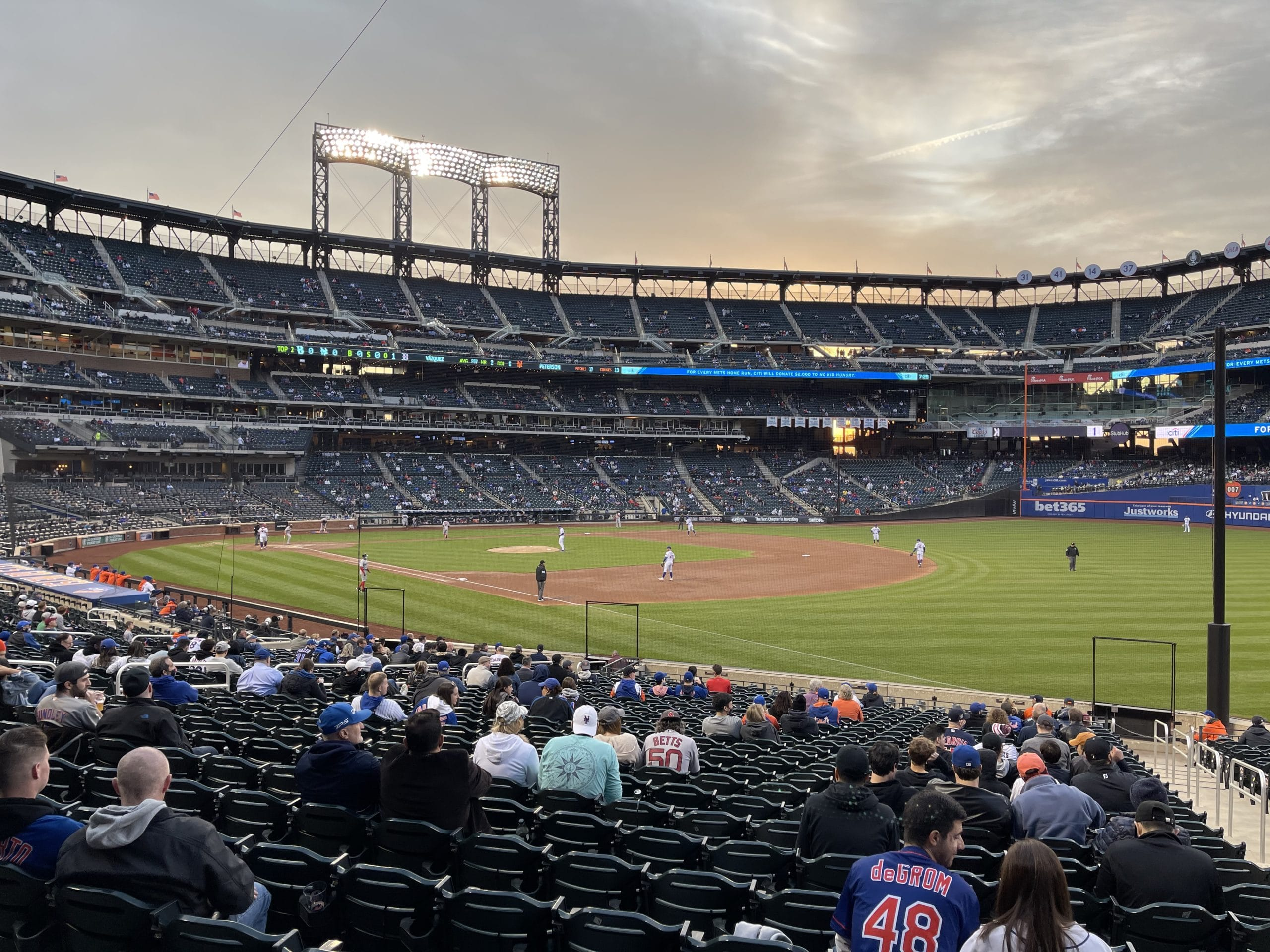 First Time Back At The Ol' Ball Game